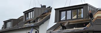 Bekannt Fertiggauben|Dach|Gauben|Dachdecker|Zimmerei|Dachsanierung WM77