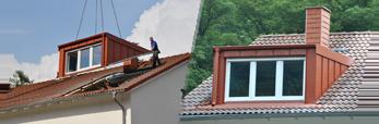 Berühmt Fertiggauben|Dach|Gauben|Dachdecker|Zimmerei|Dachsanierung MC52